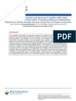 Analytical method evaluation and discovery of  variation within maize varieties in the context of food safety Transcript profiling and metabolomics..pdf