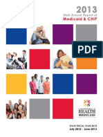 Utah Annual Report of Medicaid and CHIP 2013