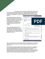 Editing Blog Notes, Visual and Audio