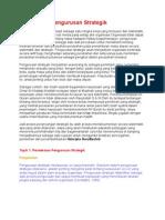 Pendekatan Pengurusan Strategik