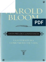 Bloom Harold - Anatomia de La Influencia