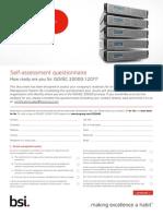 BSI ISO20000 Assessment Checklist UK En