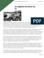 há 50 anos dos regimes de terror na America Latina