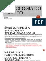 Autores - Sociologia