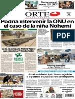 Periódico Norte de Ciudad Juárez edición impresa del 4 abril del 2014