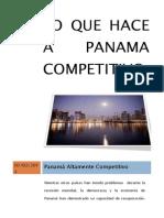 Lo Que Hace a Panama Competitivo