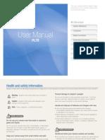 Samsung camera PL70 User Manual