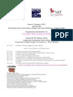 Salute Della Donna in Italia 25 Mar