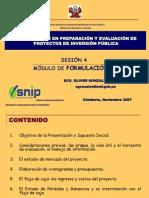 (IVb)FORMULACIÓN Huaraz 10 al 14.09.07