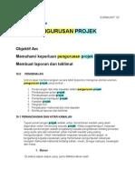 Pengurusan Projek