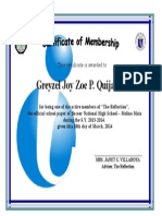 Certificate of Recognition-Template