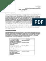 extended written response assessment