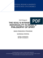 Philosophy of Spirit
