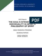 Philosophy of Spirit