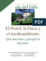 Hotel Posada del Valle; Que Hacemos y Porque Lo Hacemos