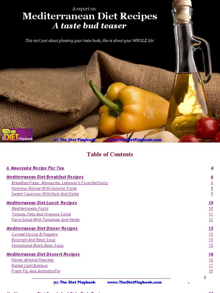 Mediterranean Diet Recipes   Eggplant   Salad