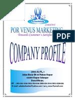 Por Venus Marketing (PVM) - Profile