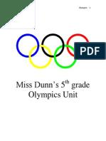 olympics unit