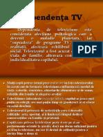 Dependenta de Tv,ppt