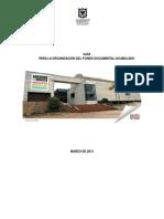 GUIA PARA LA ORGANIZACION DE UN FONDO.pdf