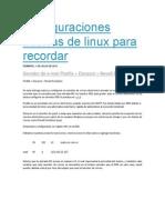 Configuraciones Basicas de E-mail Postfix Linux Para Recordar