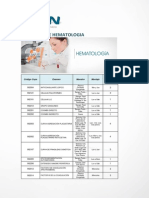 Examenes de Hematologia
