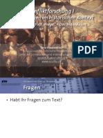 """Int. Konfliktforschung I - Woche 07 - """"First image"""" / Das Individuum (Übung)"""