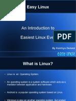 Easy Linux Presentation