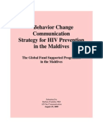 BCC Strategy HIV AIDS Maldives 2009(1)