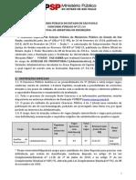 SP Ministerio Publico Edital Ed. 1737