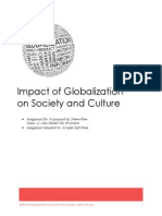 Impacts of Globalisation
