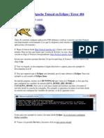 Configuración Apache Tomcat en Eclipse