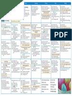 V!VA Pickering April 2014 Calendar
