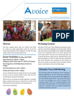 V!VA Pickering April 2014 Newsletter
