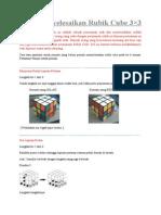 Cara Menyelesaikan Rubik Cube 3x3