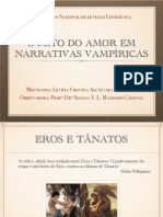 O mito do amor em narrativas vampíricas