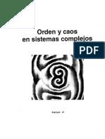 Orden y Caos en Sistemas Complejos. Fundamentos