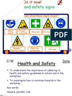 health and safety teaching ppt ks3
