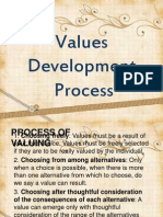 Presentation on values