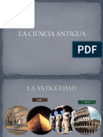 La Ciencia Antigua i
