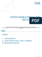 Marco Fiscal Sector Minero