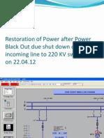 Power Restoration