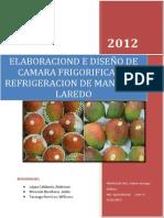 ELABORACIÓN DE CÁMARA FRIGORÍFICA PARA CONTENER PRODUCCIÓN DE MANGO FRESCO (Reparado)
