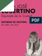 Informe de Gestión 2009-2013