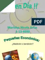 Pequeñez Económica
