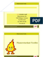 Flame Retardant for textiles
