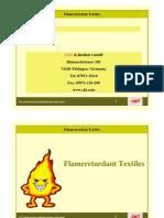 Flame Retardant for textiles