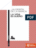 La Vida Es Sueno - Pedro Calderon de La Barca