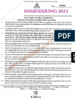 Eamcet 2013 Engineering Paper
