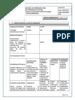 Guía 2 - Identificar deficiencias en el ambiente de formación